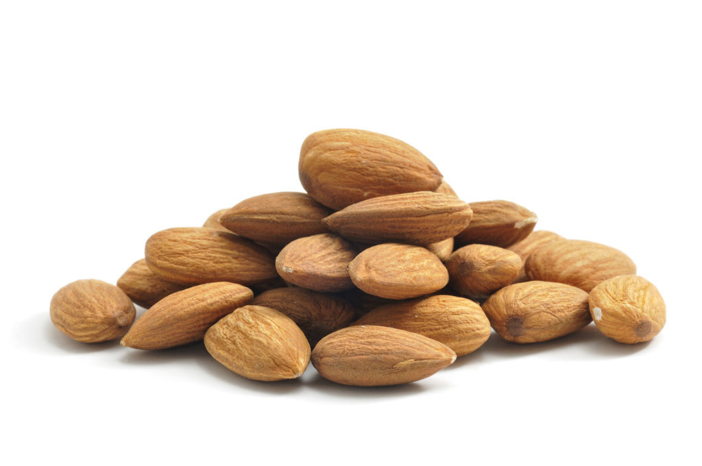 Almonds are a perfect pre-bed snack