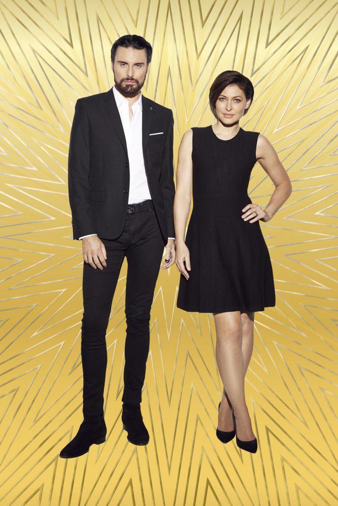 Celebrity Big Brother hosts Rylan Clark-Neal