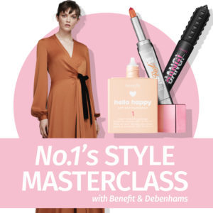 Fashion and beauty event masterclass invite