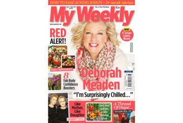 Cover of My Weekly issue August 14 with Deborah Meaden of Dragon''s Den and red pepper cookery