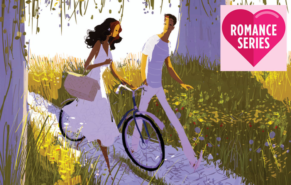Couple walking bicycles along path under willow tree Illustration: Getty Images, James Dewar