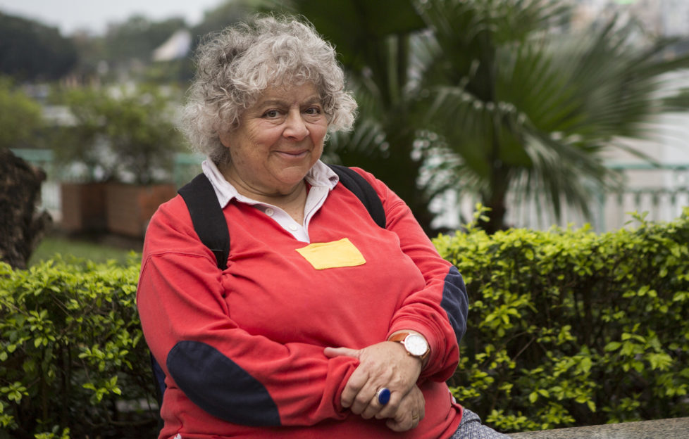 Actress Miriam Margolyes