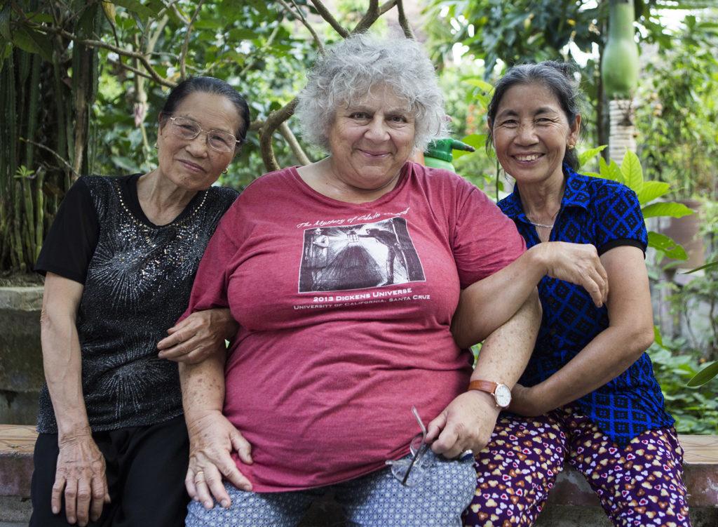 Mrs Van (69), Miriam Margolyes (77), Mrs Duc Thi Nguyen (64)