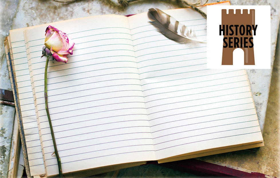 A writing pad open Pic: Thinkstock