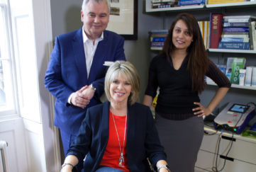 Ruth and Eamonn Holmes with sleep doctor