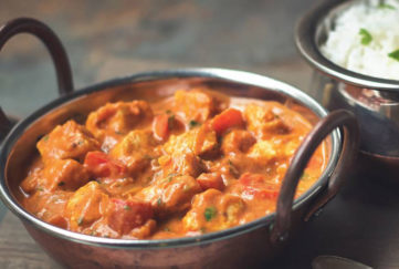 A bowl of Quorn Tikka Masala