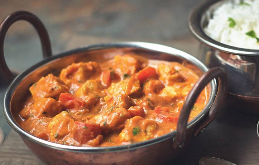 A bowl of Quorn Tikka Masala