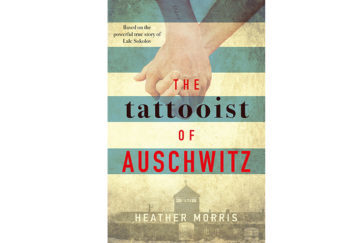The Tattooist of Auschwitz cover
