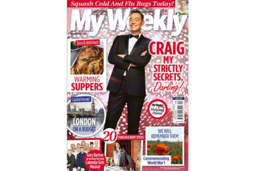 Cover of My Weekly October 30, 2018 with Craig Revel Horwood and autumnal suppers
