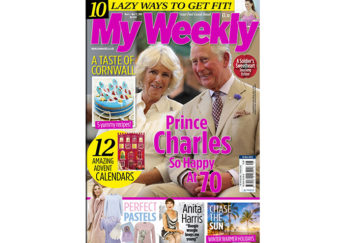 Cover of my weekly latest issue November 6, 2018 with Prince Charles and Camilla plus Cornish cookery