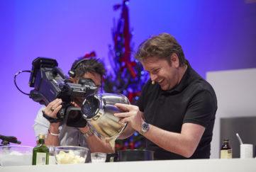 James Martin cookery demo