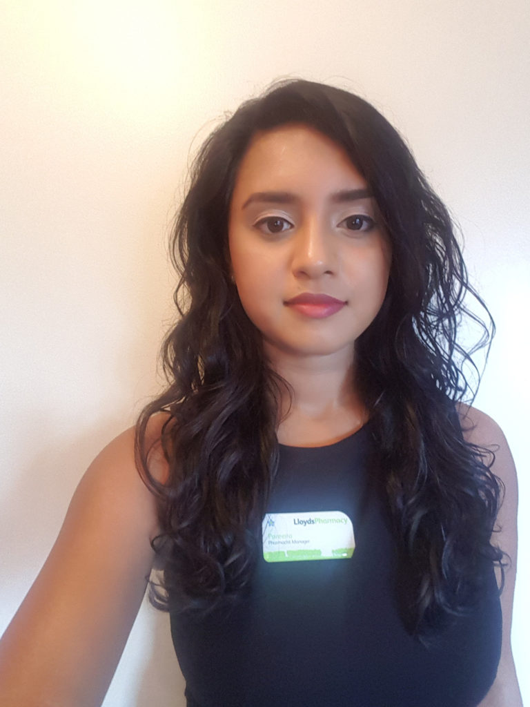 LloydsPharmacy Pharmacist, Pareena Patel