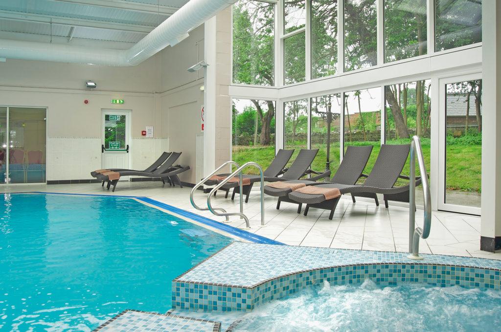 Swimming pool at Bodelwyddan