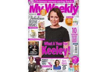 My weekly latest issue november 13 with Keeley Hawes and Christmas cookery