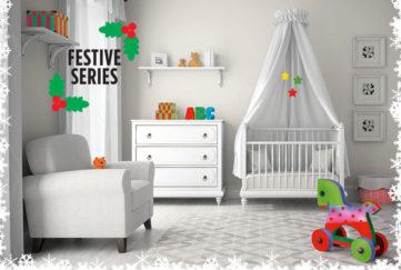 Baby's nursery Illustration: Rex/Shutterstock, Rikki O'Neill