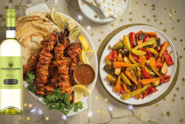 Santa's spicy chicken recipes and wine to match