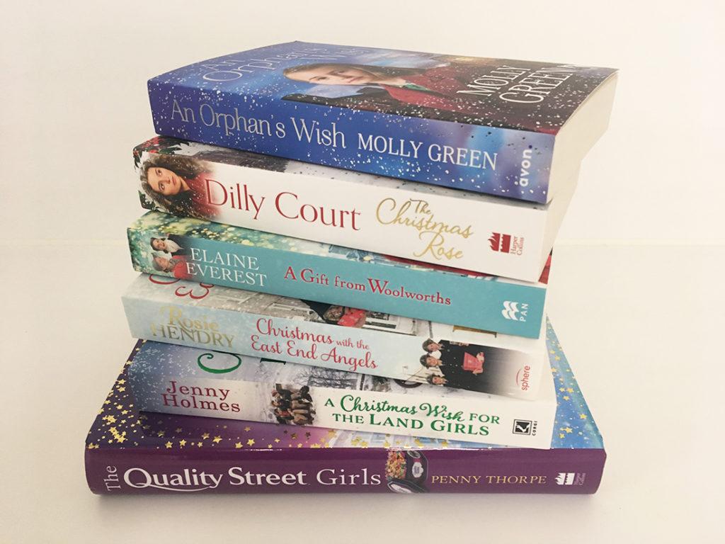 6 Christmas fiction books