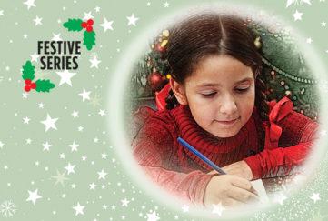 A little girl writing to Santa Illustration: Istockphoto, Mandy Dixon