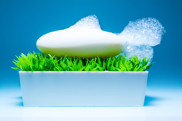 Shampoo in a bar Pic: Istockphoto