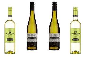 2 bottles each of Kendermanns Riesling and Kabinett