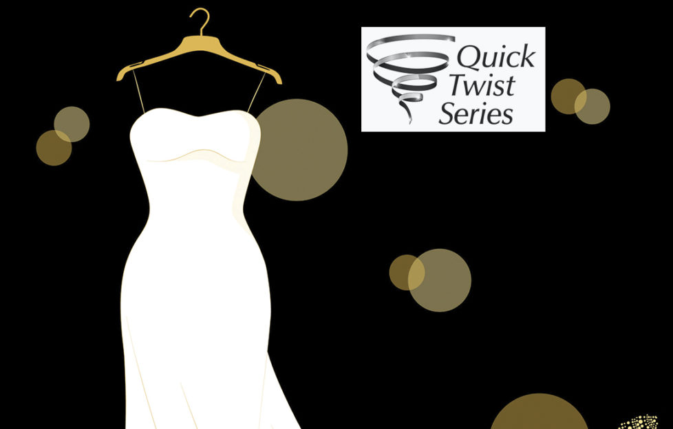 A wedding dress on a hanger Illustration: Thinkstock, Mandy Dixon