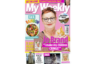 my weekly latest issue january 22, 2019 with Jo Brand and rainbow cookery