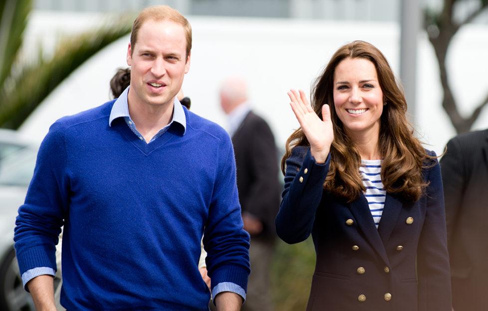 The Duke and Duchess of Cambridge Pic: Rex/Shutterstock