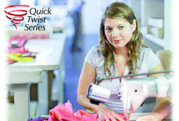 Woman working in a clothes factory Illustration: Thinkstock