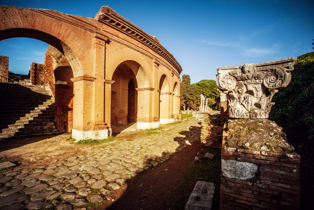 Roman Theater at Ostia Antica Pic: Istockphoto