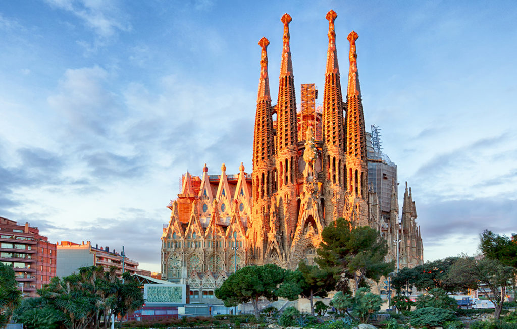 Church and cathedral Sagrada Familia in Barcelona Pic: Istockphoto
