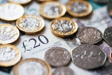 British currency Pic: Istockphoto