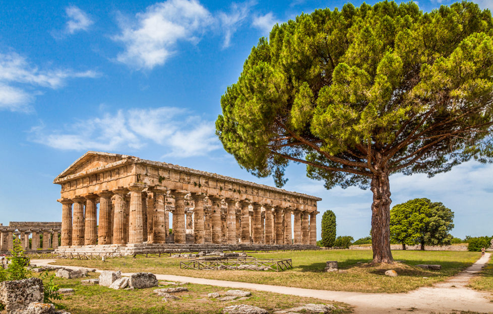 Temple of Hera at Paestum Pic: Istockphoto