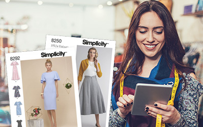 Receive two free Simplicity patterns just for entering!