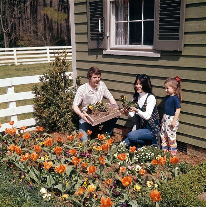 Gardening in the 70s