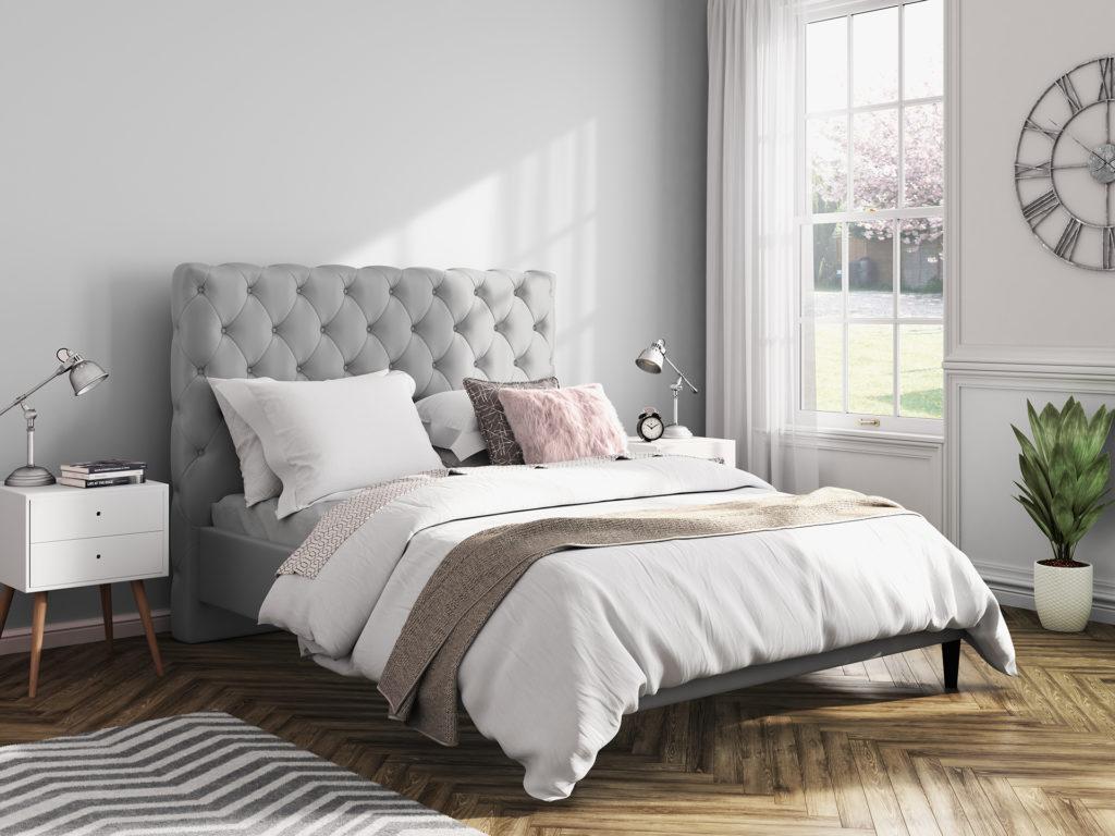 A bedroom scene
