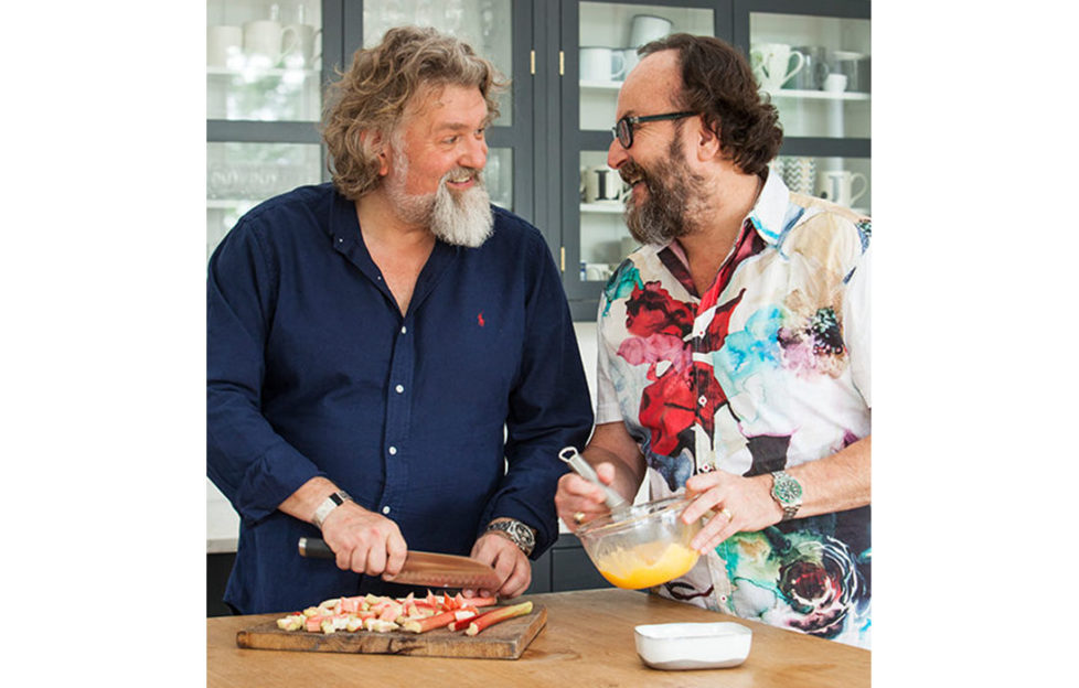 Si and Dave, The Hairy Bikers