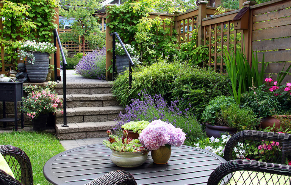 Gardens today are now a relaxing extension of the home Pic: Istockphoto