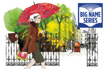 Stylish lady with a red umbrella Illustration: Thinkstock, Mandy Dixon