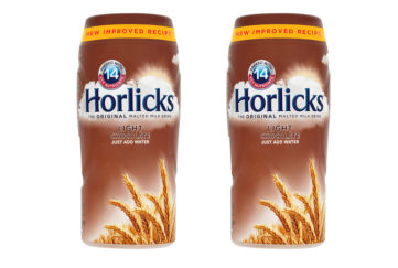 Two jars of Horlicks