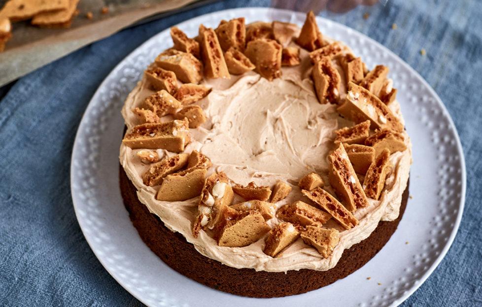 Honeycomb Banana Cake by Nadiya Hussain