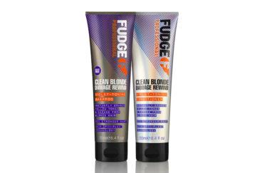 Fudge Clean Blonde Damage Rewind Shampoo & Conditioner