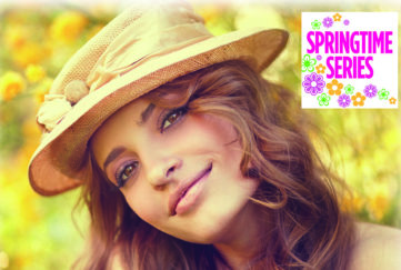 Woman in hat in sunny garden Illustration: Istockphoto