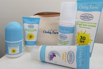 Childs Farm Suncare range