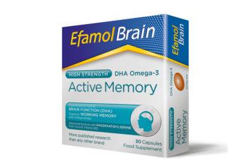 Efamol Brain Active Memory Pack