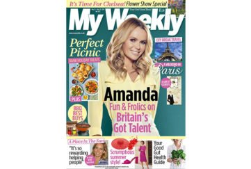 Cover of My Weekly latest issue May 21, with Amanda Holden and picnic recipes