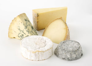 5 cheese selection