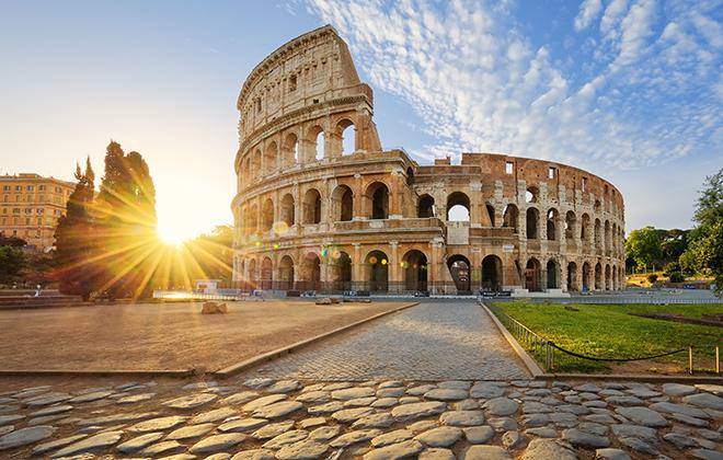 Colosseum in Rome Pic: Istockphoto