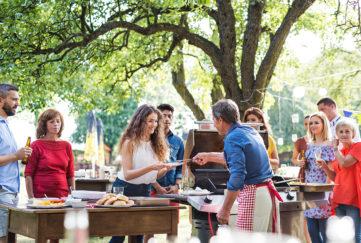 family barbecue Pic: Istockphoto