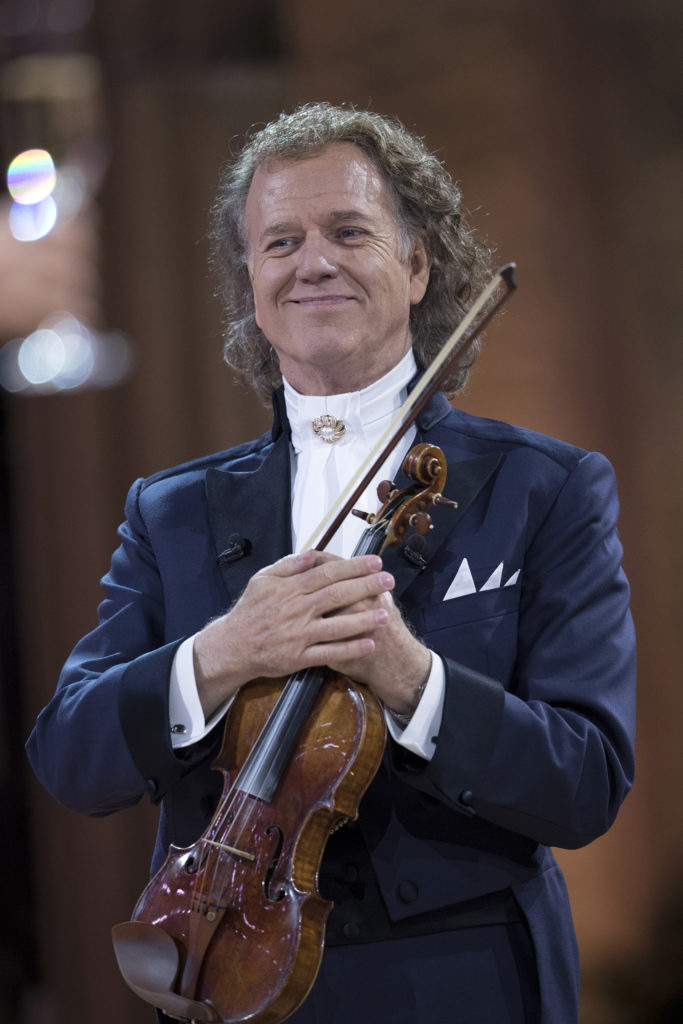 Andre Rieu with violin