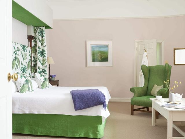 A bedroom at Gregans Castle